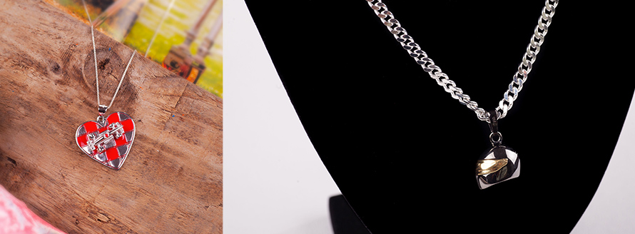 Motorsport Pendant Jewellery
